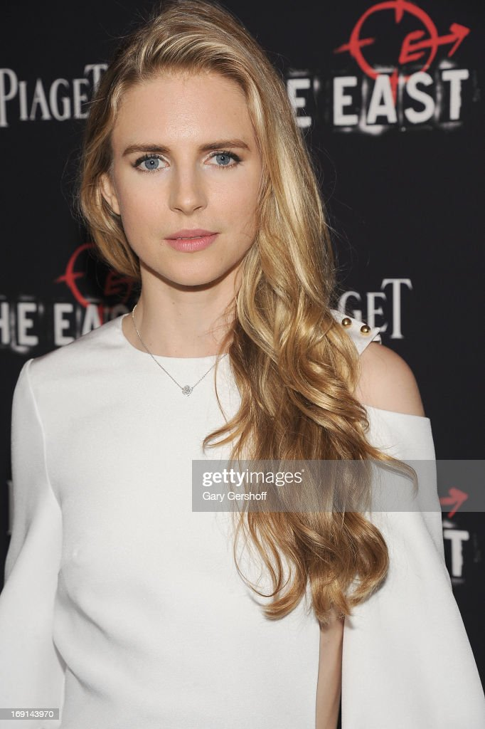 Actress, co-writer and producer Brit Marling attends 'The East' premiere at Landmark's Sunshine Cinema on May 20, 2013 in New York City.