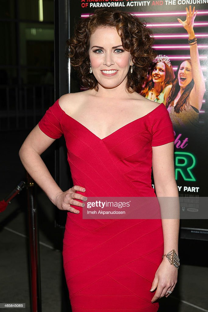 Actress <a gi-track='captionPersonalityLinkClicked' href=/galleries/search?phrase=Crista+Flanagan&family=editorial&specificpeople=737112 ng-click='$event.stopPropagation()'>Crista Flanagan</a> attends the premiere of Magnet's 'Best Night Ever' at ArcLight Cinemas on January 29, 2014 in Hollywood, California.
