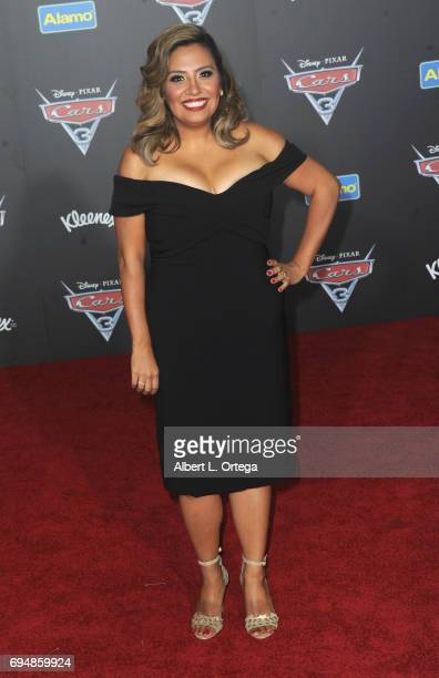Actress Cristela Alonzo arrives for the Premiere Of Disney And Pixar's 'Cars 3' held at Anaheim Convention Center on June 10 2017 in Anaheim...