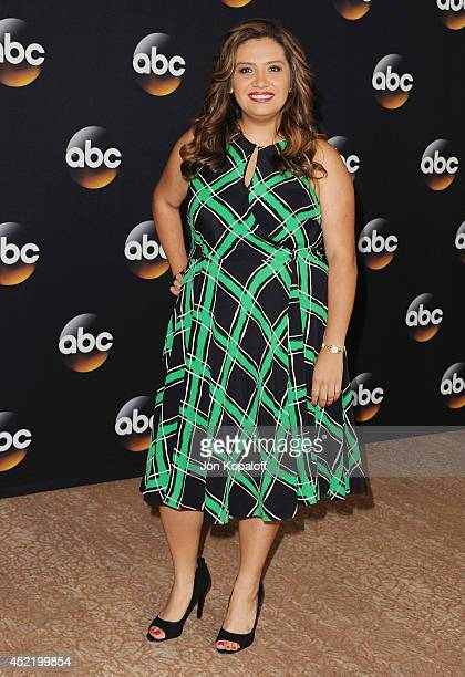 Actress Cristela Alonzo arrives the Disney|ABC Television Group 2014 Television Critics Association Summer Press Tour at The Beverly Hilton Hotel on...