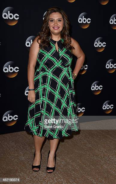 Actress Cristela Alonzo attends the Disney/ABC Television Group 2014 Television Critics Association Summer Press Tour at The Beverly Hilton Hotel on...