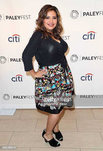 Actress Cristela Alonzo attends The Paley Center for Media's PaleyFest 2014 Fall TV Preview ABC at The Paley Center for Media on September 11 2014 in...