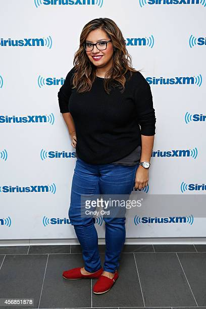Actress Cristela Alonzo visits the SiriusXM Studios on October 8 2014 in New York City