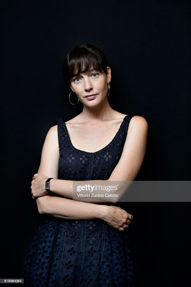 Actress Cristiana Capotondi poses for a portrait session during Giffoni Film Festival on July 19, 2017 in Giffoni Valle Piana, Italy.