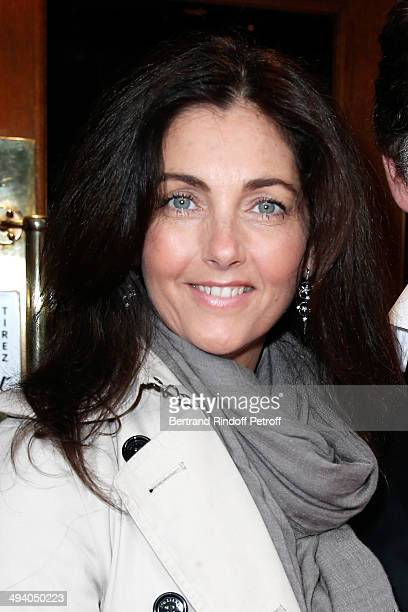 Actress Cristiana Reali attends the 'Mugler Follies' 100th Edition at Le Comedia in Paris on May 26 2014 in Paris France