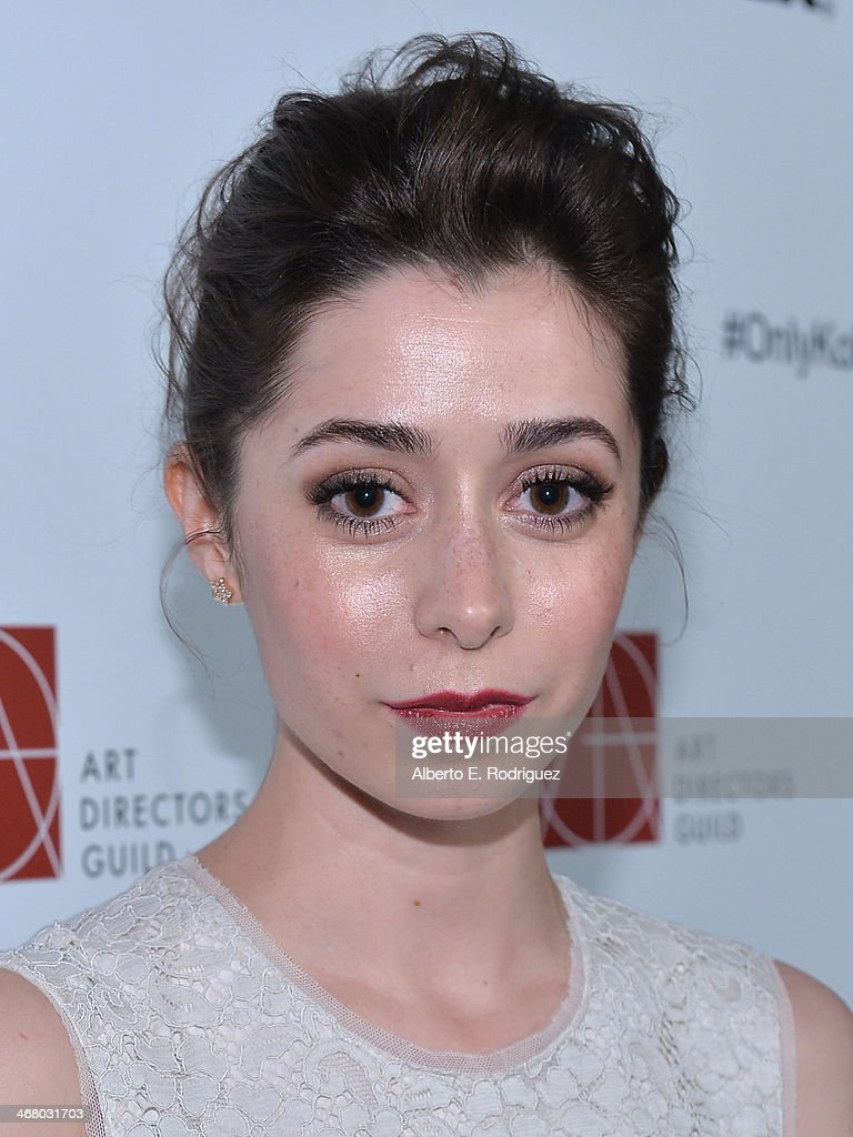 Actress <a gi-track='captionPersonalityLinkClicked' href=/galleries/search?phrase=Cristin+Milioti&family=editorial&specificpeople=6895787 ng-click='$event.stopPropagation()'>Cristin Milioti</a> arrives to the 18th Annual Art Directors Guild Exellence In Production Design Awards at The Beverly Hilton Hotel on February 8, 2014 in Beverly Hills, California.