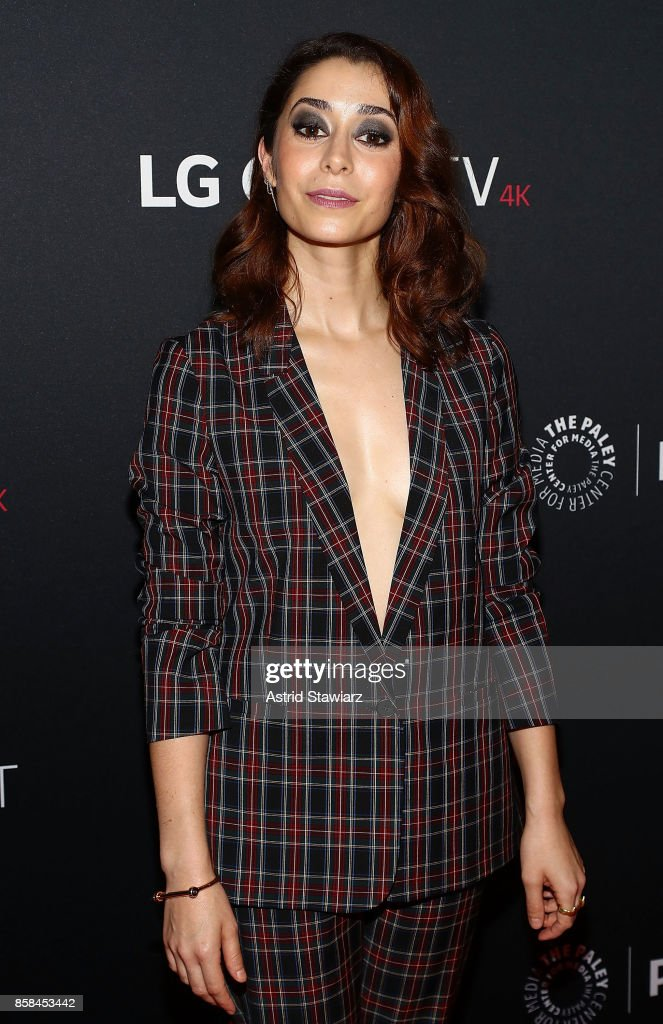 Actress Cristin Milioti attends 'Black Mirror' during PaleyFest NY 2017 at The Paley Center for Media on October 6, 2017 in New York City.