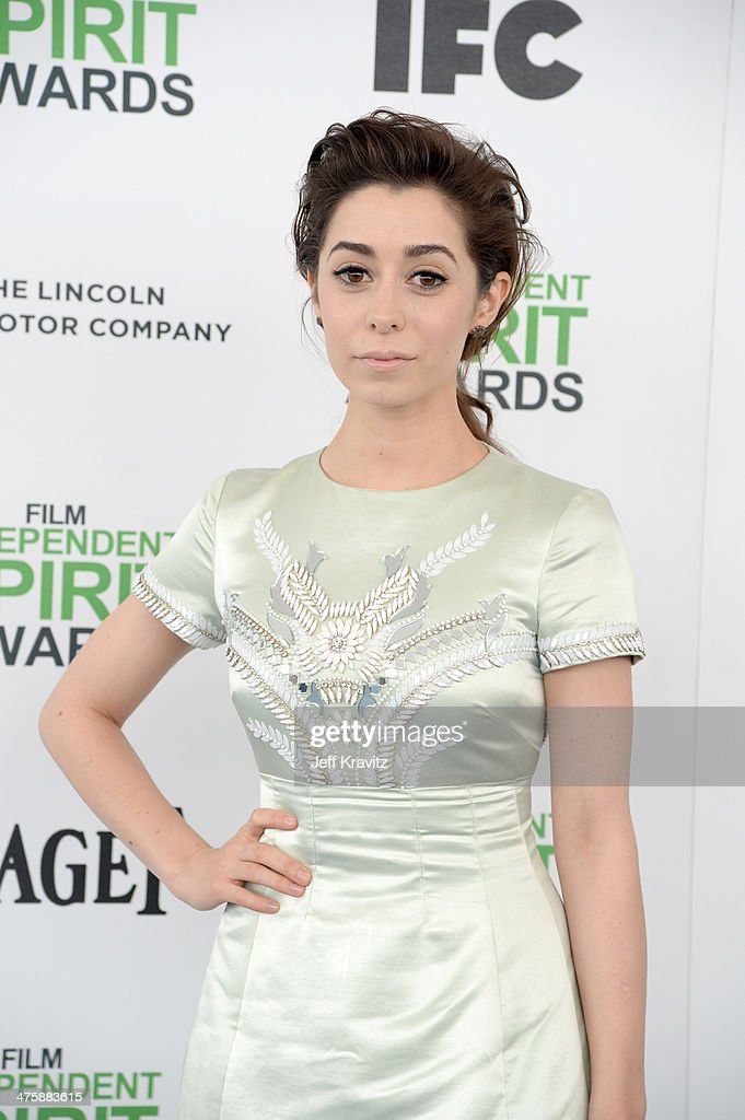 Actress <a gi-track='captionPersonalityLinkClicked' href=/galleries/search?phrase=Cristin+Milioti&family=editorial&specificpeople=6895787 ng-click='$event.stopPropagation()'>Cristin Milioti</a> attends the 2014 Film Independent Spirit Awards on March 1, 2014 in Santa Monica, California.