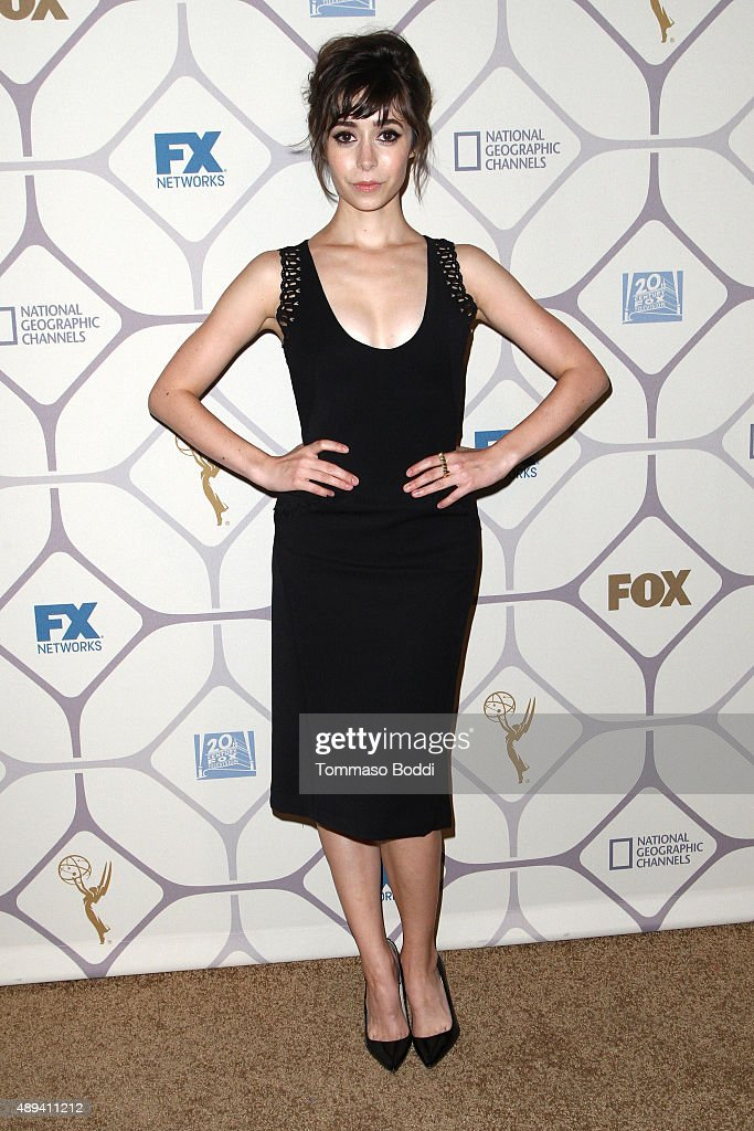 Actress Cristin Milioti attends the 67th Primetime Emmy Awards Fox after party on September 20 2015 in Los Angeles California