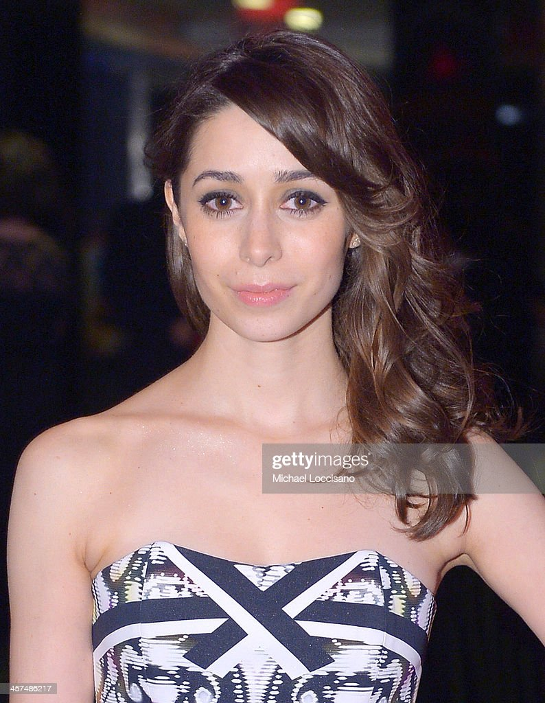 Actress <a gi-track='captionPersonalityLinkClicked' href=/galleries/search?phrase=Cristin+Milioti&family=editorial&specificpeople=6895787 ng-click='$event.stopPropagation()'>Cristin Milioti</a> attends the 'The Wolf Of Wall Street' premiere after party at Roseland Ballroom on December 17, 2013 in New York City.