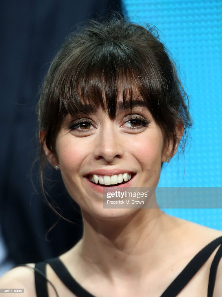Actress Cristin Milioti speaks onstage at the 'A To Z' panel during the NBCUniversal portion of the 2014 Summer Television Critics Association at The Beverly Hilton Hotel on July 13, 2014 in Beverly Hills, California.
