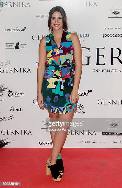 Actress Cristina Abad attends the 'Gernika' premiere at Palafox cinema on September 5 2016 in Madrid Spain