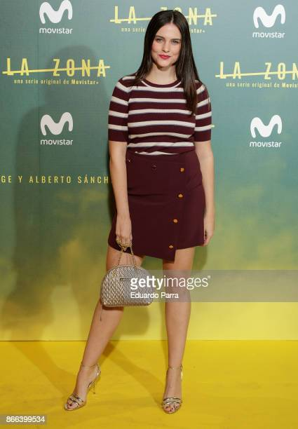 Actress Cristina Abad attends the 'La Zona' premiere at Capitol cinema on October 25 2017 in Madrid Spain