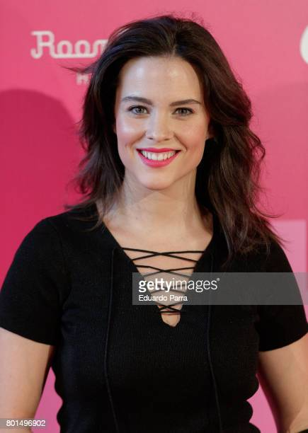 Actress Cristina Abad attends the 'World Pride preparty' photocall at Oscar hotel on June 26 2017 in Madrid Spain