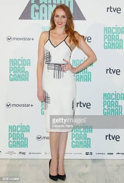 Actress Cristina Castano attends the 'Nacida para ganar' photocall at Eurobuilding hotel on May 04 2016 in Madrid Spain