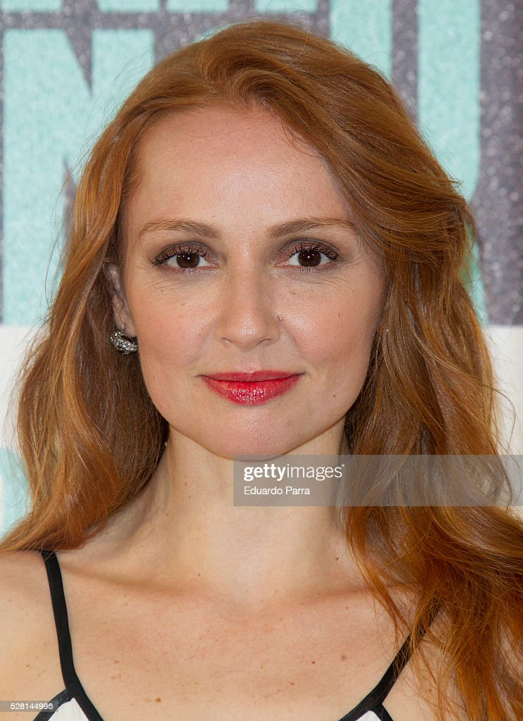 Actress Cristina Castano attends the 'Nacida para ganar' photocall at Eurobuilding hotel on May 04, 2016 in Madrid, Spain.