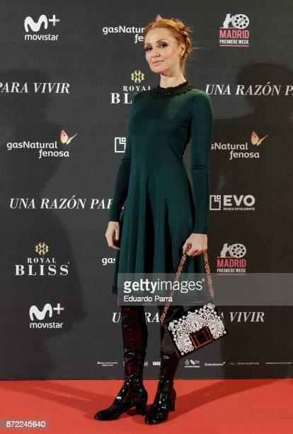Actress Cristina Castano attends the 'Una razon para vivir' premiere on November 9 2017 in Madrid Spain