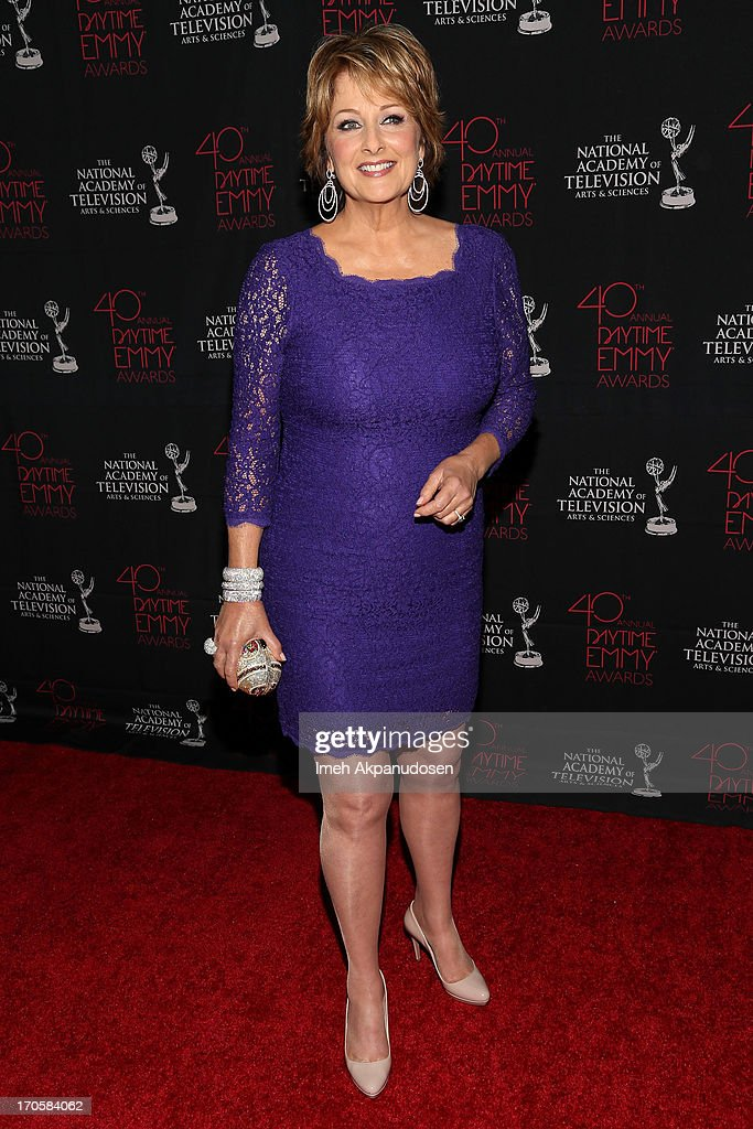 Actress Cristina Ferrare attends The National Academy Of Television Arts & Sciences Presents The 40th Annual Daytime Entertainment Creative Arts Emmy Awards at Westin Bonaventure Hotel on June 14, 2013 in Los Angeles, California.