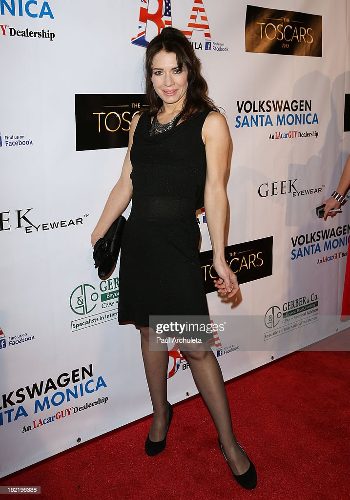 Actress Cristina Parovel attends the 6th annual Toscar Awards at the Egyptian Theatre on February 19, 2013 in Hollywood, California.