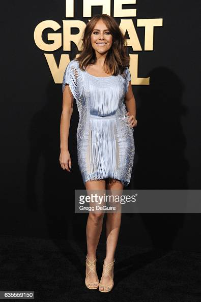 Actress Cristina Umana arrives at the premiere of Universal Pictures' 'The Great Wall' at TCL Chinese Theatre IMAX on February 15 2017 in Hollywood...