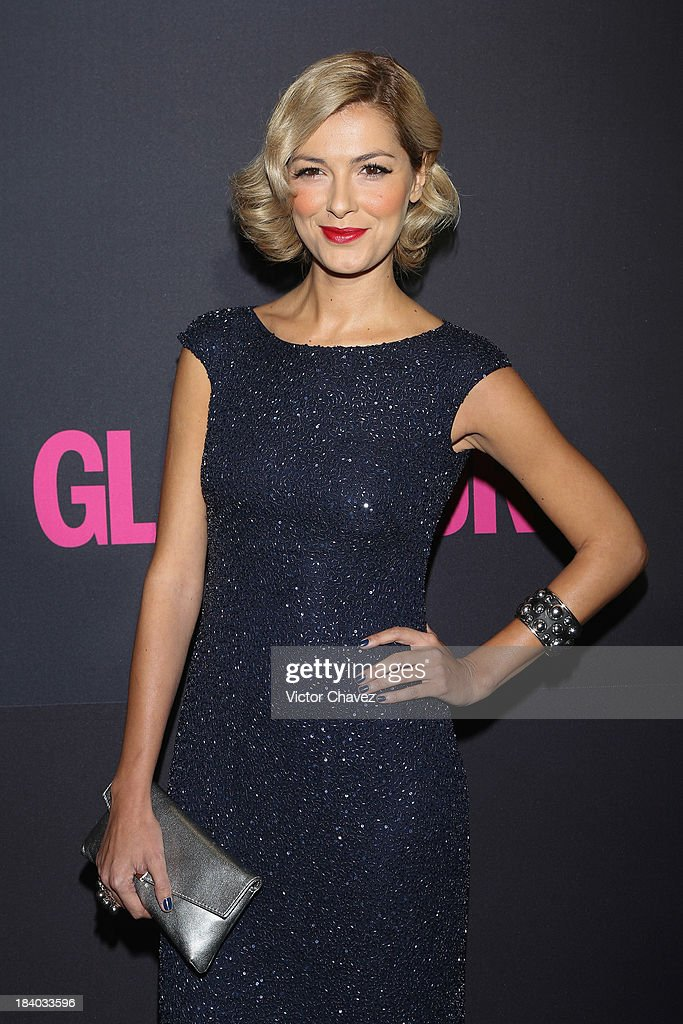 Actress Cristina Urgel attends the Glamour Magazine 15th Anniversary at Casino Del Bosque on October 10, 2013 in Mexico City, Mexico.