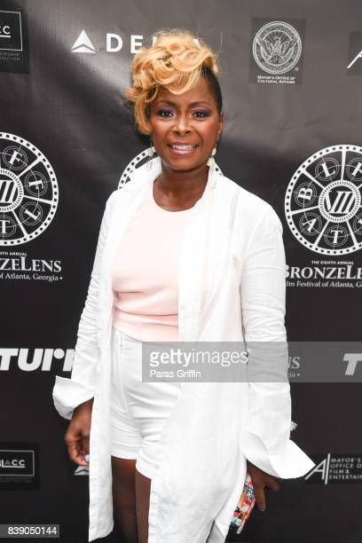 Actress Crystal Fox at 2017 BronzeLens Women SuperStars Luncheon at Westin Peachtree Plaza on August 25 2017 in Atlanta Georgia