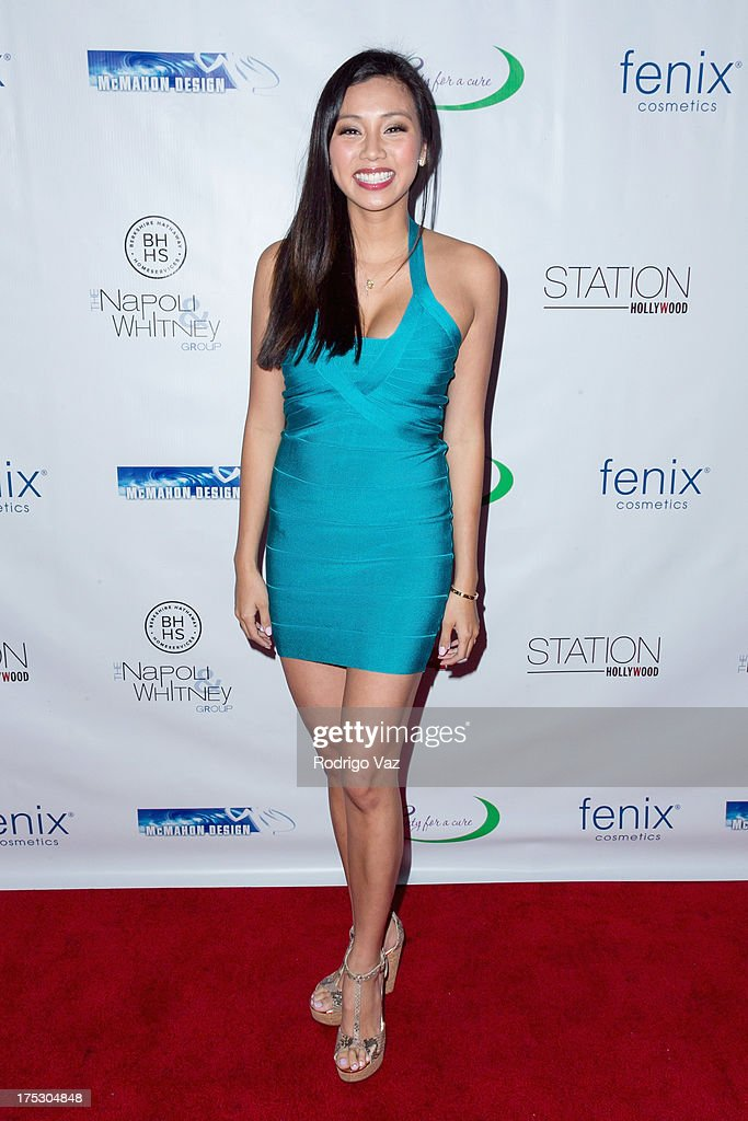 Actress Crystal Hoang arrives at Playboy Radio's Hollywood Casino Night benefiting The Leukemia & Lymphoma Society's Hodgkins Haters at W Hollywood on August 1, 2013 in Hollywood, California.
