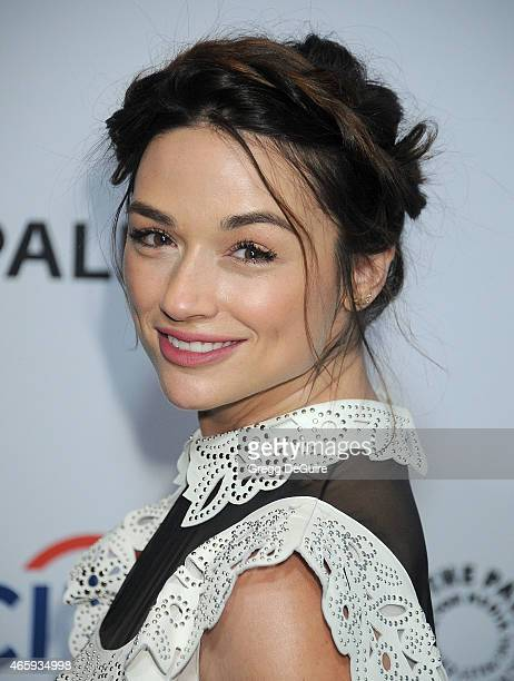 Actress Crystal Reed arrives at the 32nd Annual PALEYFEST LA 'Teen Wolf' at Dolby Theatre on March 11 2015 in Hollywood California