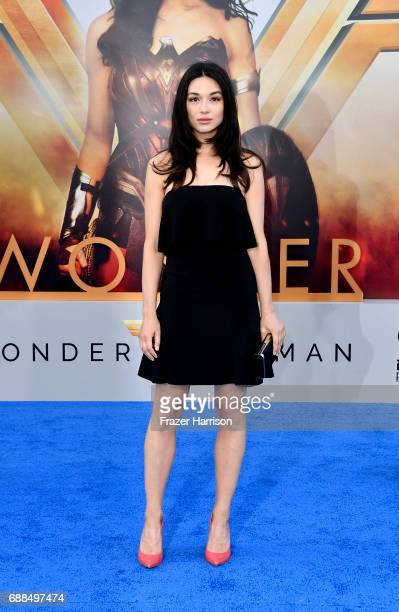 Actress Crystal Reed arrives at the Premiere Of Warner Bros Pictures' 'Wonder Woman' at the Pantages Theatre on May 25 2017 in Hollywood California