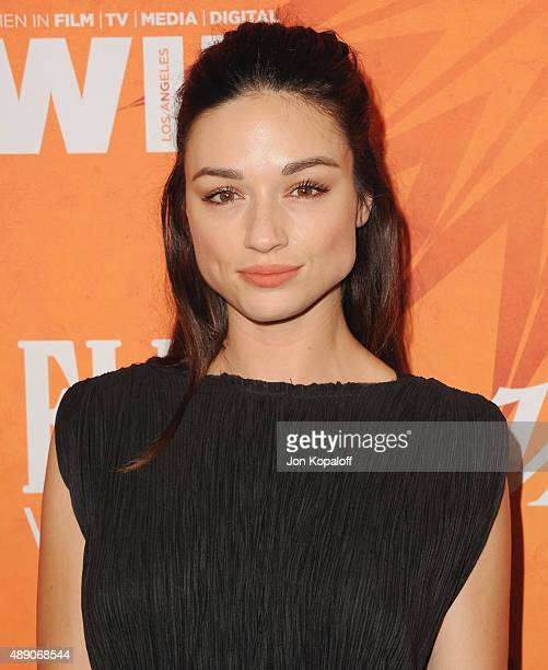 Actress Crystal Reed arrives at the Variety And Women In Film Annual PreEmmy Celebration at Gracias Madre on September 18 2015 in West Hollywood...