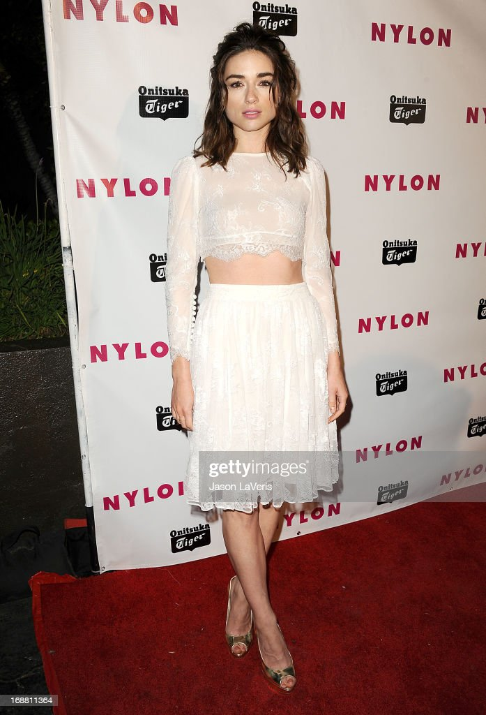 Actress Crystal Reed attends Nylon Magazine's Young Hollywood issue event at The Roosevelt Hotel on May 14, 2013 in Hollywood, California.