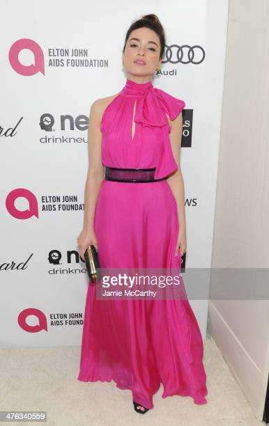 Actress Crystal Reed attends the 22nd Annual Elton John AIDS Foundation Academy Awards Viewing Party at The City of West Hollywood Park on March 2...