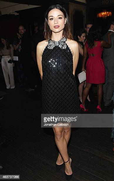 Actress Crystal Reed attends Vanity Fair and FIAT celebration of Young Hollywood hosted by Krista Smith and James Corden to benefit the Terrence...