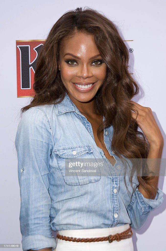 Actress <a gi-track='captionPersonalityLinkClicked' href=/galleries/search?phrase=Crystle+Stewart&family=editorial&specificpeople=5127557 ng-click='$event.stopPropagation()'>Crystle Stewart</a> attends GLAAD's annual food-themed fundraiser 'GLAAD Hancock Park' on July 20, 2013 in Los Angeles, California.