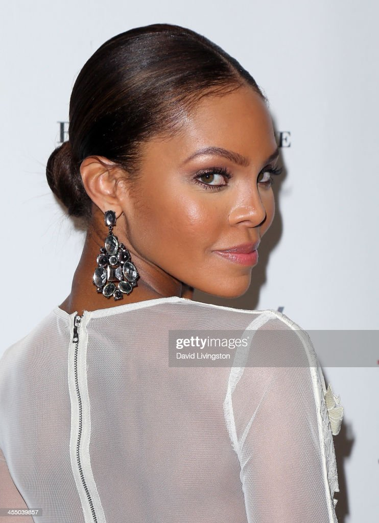 Actress <a gi-track='captionPersonalityLinkClicked' href=/galleries/search?phrase=Crystle+Stewart&family=editorial&specificpeople=5127557 ng-click='$event.stopPropagation()'>Crystle Stewart</a> attends the Angels for Animal Rescue Benefit hosted by Joanna Krupa at the Beverly Wilshire Four Seasons Hotel on December 10, 2013 in Beverly Hills, California.