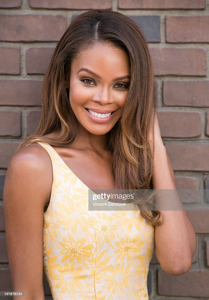 Actress Crystle Stewart attends The Game Hosts Bresee Foundation 9th Annual Youth Film Festival on Social Justice at Fox Studio Lot on May 17 2014 in...