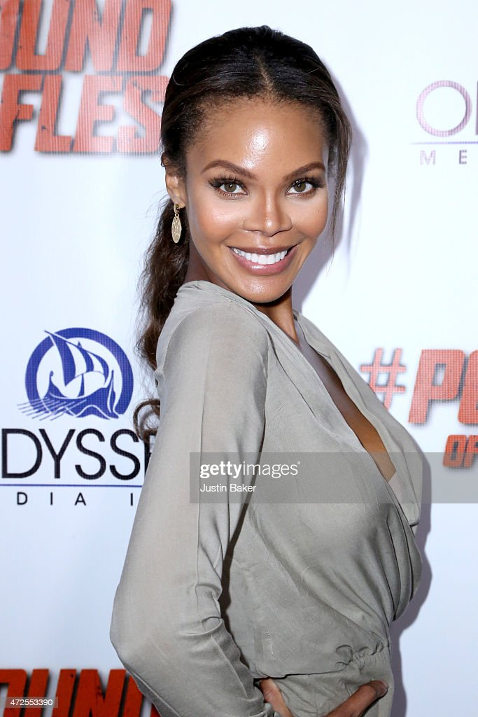 Actress Crystle Stewart attends the premiere of 'Pound Of Flesh' at Pacific Theaters at the Grove on May 7 2015 in Los Angeles California