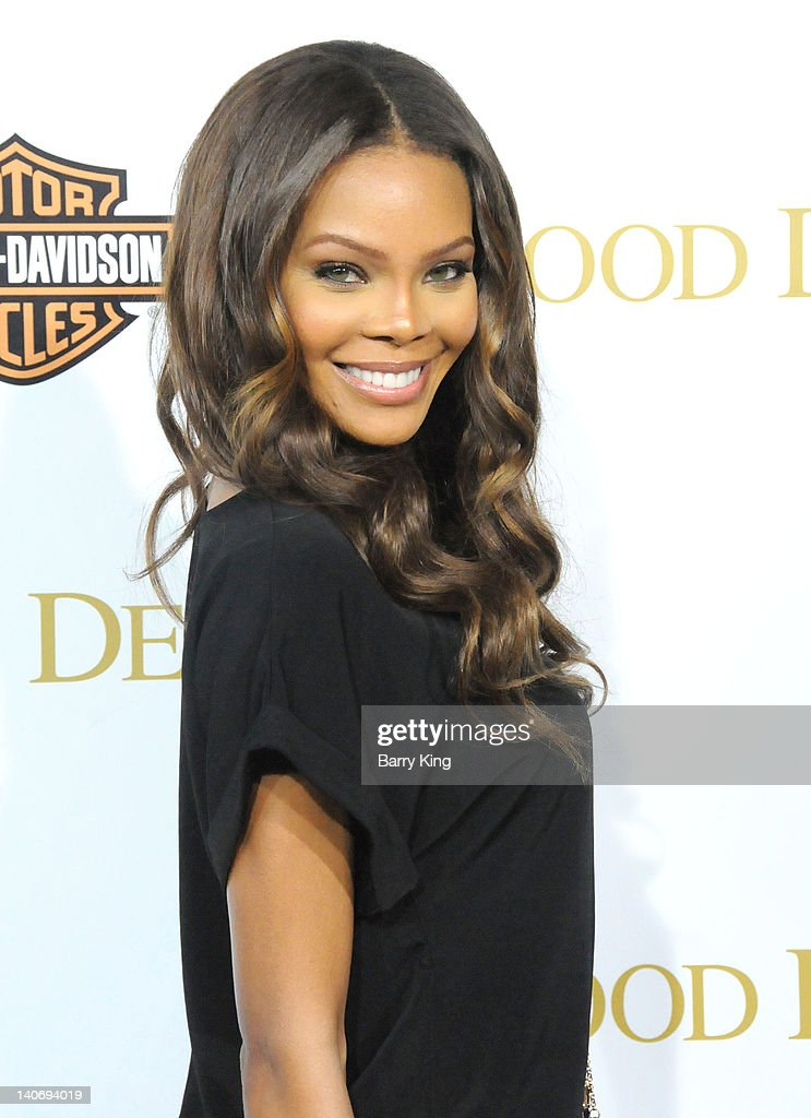 Actress Crystle Stewart attends the premiere of Tyler Perry's 'Good Deeds' at Regal Cinemas LA Live on February 14 2012 in Los Angeles California