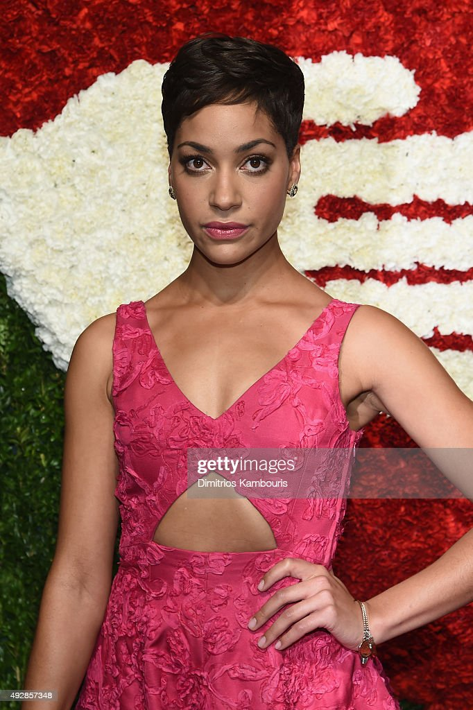 Actress Cush Jumbo attends God's Love We Deliver, Golden Heart Awards at Spring Studio on October 15, 2015 in New York City.