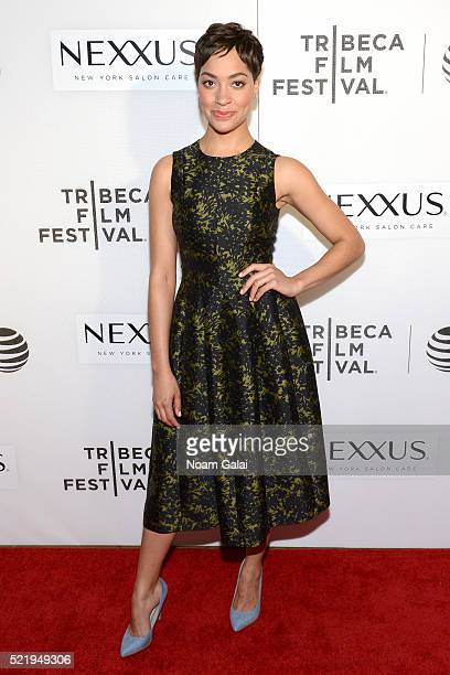 Actress Cush Jumbo attends the Tribeca Tune In The Good Wife at BMCC John Zuccotti Theater on April 17 2016 in New York City