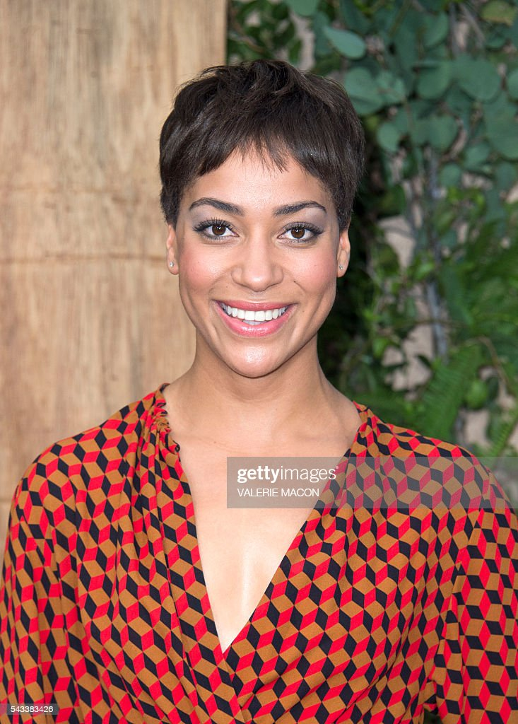 Actress Cush Jumbo attends the world premiere of 'The Legend of Tarzan' in Hollywood, California, on June 27, 2016. / AFP / VALERIE