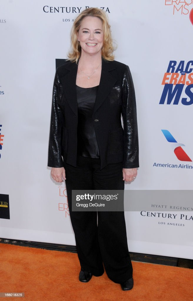 Actress Cybill Shepherd arrives at the 20th Annual Race To Erase MS Gala 'Love To Erase MS' at the Hyatt Regency Century Plaza on May 3, 2013 in Century City, California.