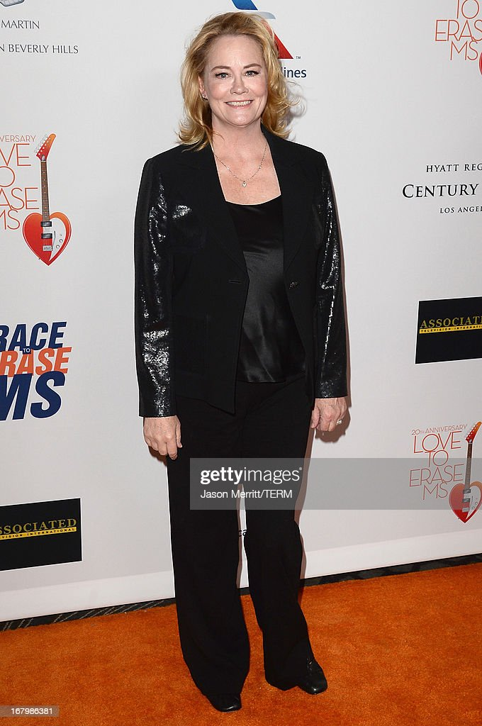 Actress Cybill Shepherd attends the 20th Annual Race To Erase MS Gala 'Love To Erase MS' at the Hyatt Regency Century Plaza on May 3, 2013 in Century City, California.