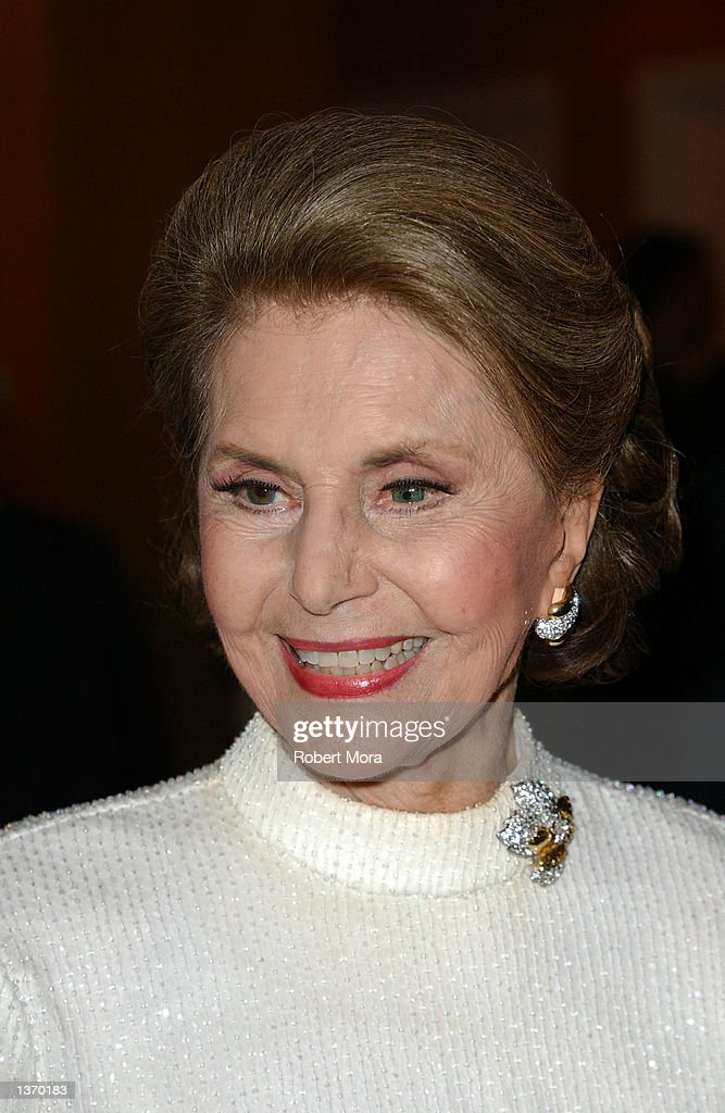 Actress Cyd Charisse attends the 50th Anniversary screening of 'Singin' in the Rain' at the Academy of Motion Picture Arts and Sciences on September 5, 2002 in Beverly Hills, California.