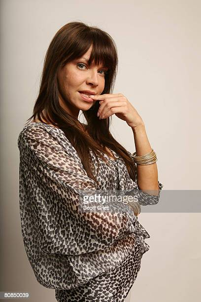 Actress Cyia Batten of the film 'Killer Movie' poses for a portrait at the Amex Insider's Center during the 2008 Tribeca Film Festival on April 24...
