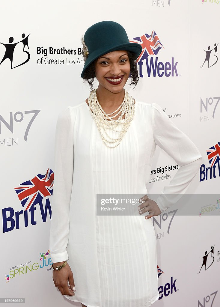 Actress Cynthia Addai-Robinson attends BritWeek Celebrates Downton Abbey at The Fairmont Miramar Hotel on May 3, 2013 in Santa Monica, California.