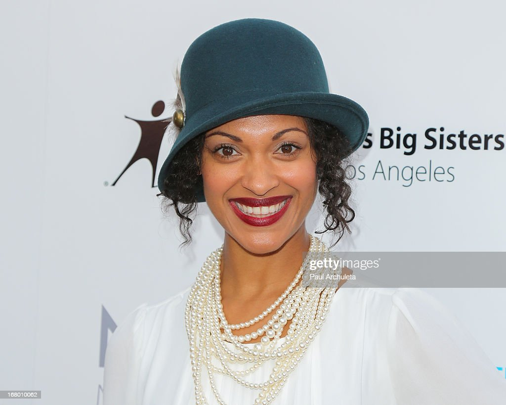 Actress <a gi-track='captionPersonalityLinkClicked' href=/galleries/search?phrase=Cynthia+Addai-Robinson+-+Actress&family=editorial&specificpeople=3092237 ng-click='$event.stopPropagation()'>Cynthia Addai-Robinson</a> attends the Britweek celebration of 'Downton Abbey' at Fairmont Miramar Hotel on May 3, 2013 in Santa Monica, California.