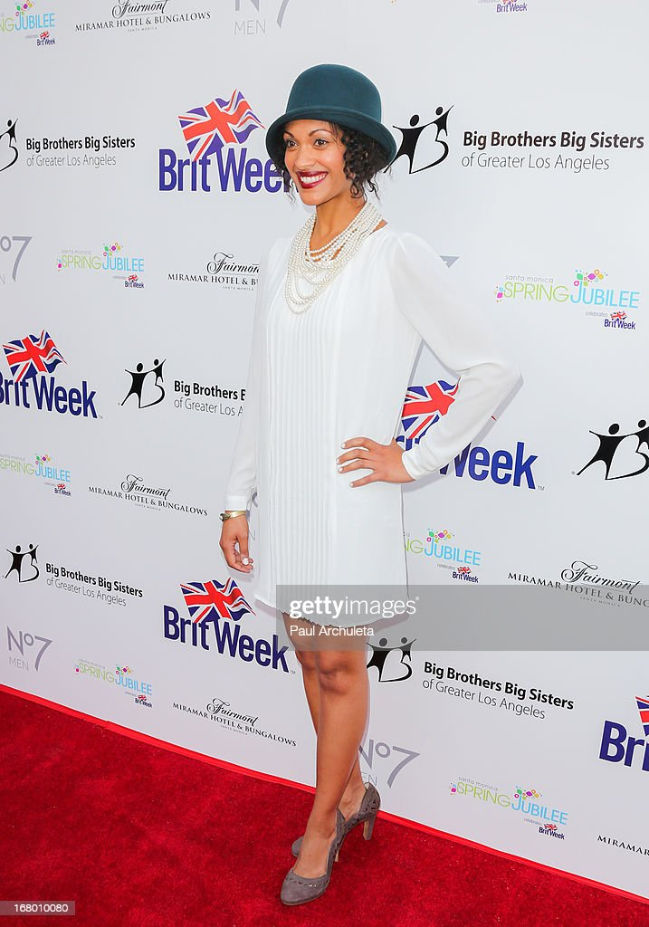 Actress <a gi-track='captionPersonalityLinkClicked' href=/galleries/search?phrase=Cynthia+Addai-Robinson&family=editorial&specificpeople=3092237 ng-click='$event.stopPropagation()'>Cynthia Addai-Robinson</a> attends the Britweek celebration of 'Downton Abbey' at Fairmont Miramar Hotel on May 3, 2013 in Santa Monica, California.