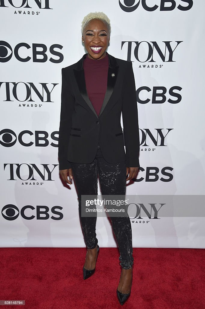 Actress Cynthia Erivo attends the 2016 Tony Awards Meet The Nominees Press Reception on May 4, 2016 in New York City.