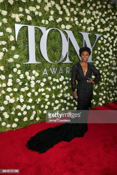 Actress Cynthia Erivo attends the 2017 Tony Awards at Radio City Music Hall on June 11 2017 in New York City